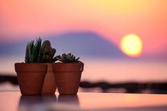 La isla de Milos Imagen de archivo libre de regalías