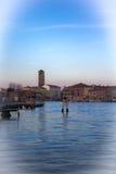 La isla de Murano fotografía de archivo