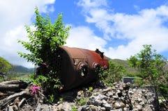 La isla de Nevis, el Caribe Foto de archivo