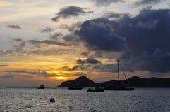 La isla de Nevis, el Caribe Fotografía de archivo libre de regalías