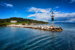 La isla de Paxos, Grecia fotos de archivo libres de regalías