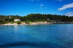 La isla de Paxos, Grecia imagen de archivo libre de regalías