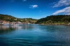La isla de Paxos, Grecia imágenes de archivo libres de regalías