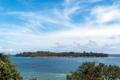 La isla de Ross es la visión superior Fotografía de archivo libre de regalías