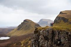 La isla de Skye pasa por alto fotografía de archivo