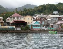 La isla de St Lucia imágenes de archivo libres de regalías