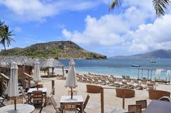 La isla de St San Cristobal, el Caribe Imágenes de archivo libres de regalías