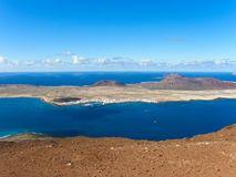 la isla graciosa ii Стоковые Фотографии RF