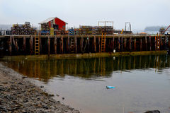 La isla Maine los E.E.U.U. de Beal del muelle de los pescadores Fotos de archivo