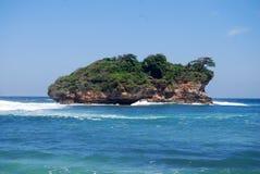 La isla sola Foto de archivo