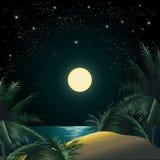 La isla tropical Foto de archivo libre de regalías