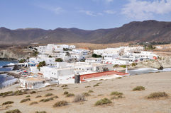 La Isleta town, Gata cape national park, Andalusia (Spain) Stock Image