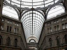La Italia, ciudad de Nápoles Foto de archivo