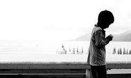 гулять la iv croisette Стоковое Изображение
