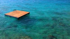 La Jamaïque, mer des Caraïbes Photo libre de droits