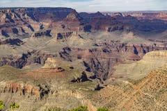 La jante du sud, accès à Grand Canyon photo stock