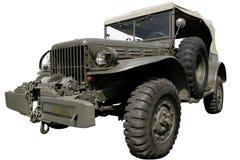 La jeep di comandante militare Immagini Stock Libere da Diritti