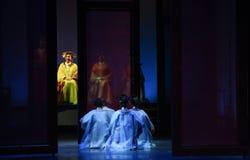 La jerarquía del corte-en las emperatrices palacio-modernas del drama en el palacio Foto de archivo libre de regalías