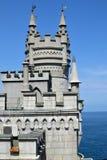 La jerarquía del trago del castillo en Crimea Foto de archivo