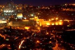 La Jerusalén Foto de archivo