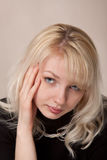 La jeune belle fille Image stock