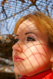 La jeune belle fille Images libres de droits