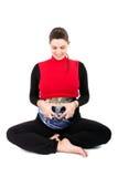 Femmes enceintes de la terre Photographie stock