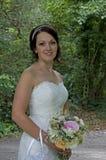 La jeune mariée photographie stock libre de droits