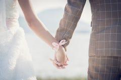La jeune mariée acceptent Photographie stock