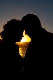 La jeune mariée et le mari Images libres de droits