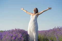 La joie de la vie Image libre de droits