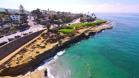 La Jolla小海湾 库存照片