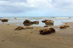 La Jolla小海湾 免版税图库摄影