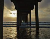 La Jolla海滩 免版税库存照片