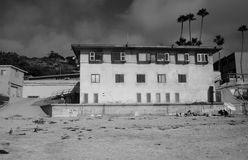 La Jolla beach. A building on La Jolla Beach, San Diego stock image
