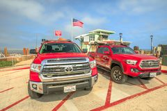 San Diego lifeguard fire-rescue royalty free stock photography