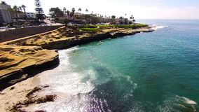 La Jolla Cove Royaltyfri Fotografi