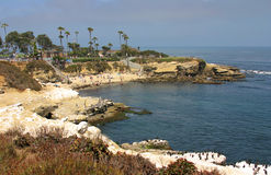 La Jolla Cove. In San Diego during Summer stock image