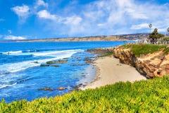 La Jolla Cove in San Diego, Southern California Stock Photography