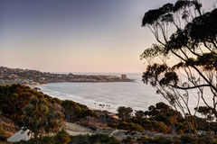 La Jolla at Dusk Royalty Free Stock Photo