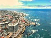 La Jolla i San Diego arkivfoton