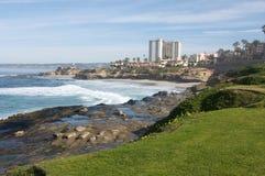 La Jolla Kalifornien i San Diego County Royaltyfria Bilder
