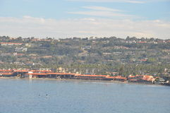 La Jolla kuster i San Diego, Kalifornien Arkivbild