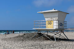 La Jolla Lifeguard Station Royalty Free Stock Photo