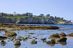 La Jolla at Low Tide Royalty Free Stock Images