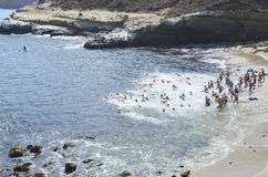 La Jolla Roughwater Stock Photography