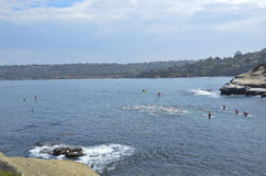 La Jolla Roughwater Royalty Free Stock Photo