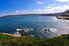 La jolla san diego. Coastline during a beautiful sunny day Stock Photo