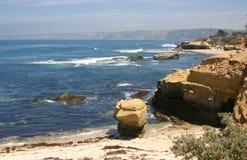 La Jolla San Diego em Califórnia do sul Fotografia de Stock Royalty Free