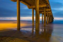 La Jolla. The Scripps Pier in La Jolla San Diego , California stock photography